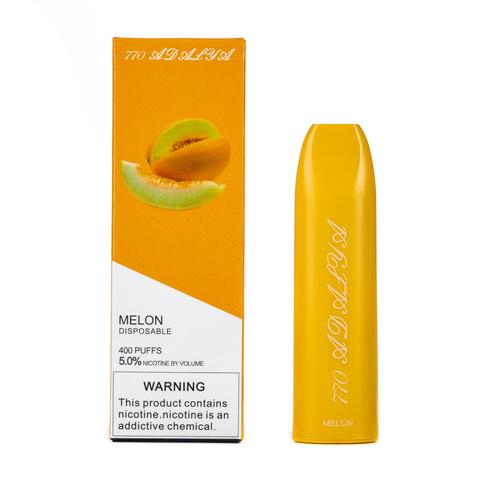 Одноразовая электронная сигарета Adalya Melon 5% 400 затяжек