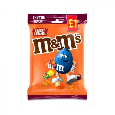M&Ms Crunchy Caramel