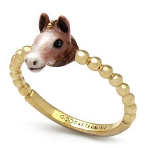 Мини-кольцо Лошадь