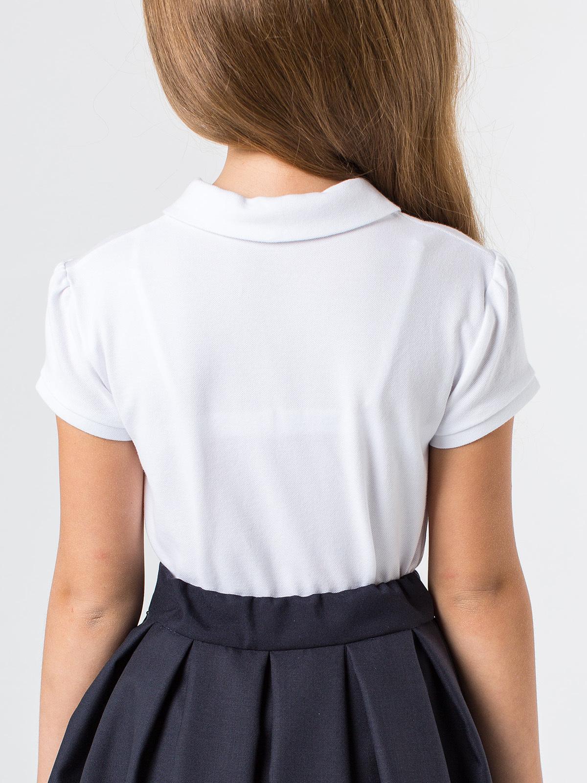 Блузка поло лонгслив