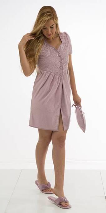 Махровые халаты НАБОР женский махровый халат тапочки и сумочка IRINA ИРИНА  Maison Dor Турция ирина.jpg