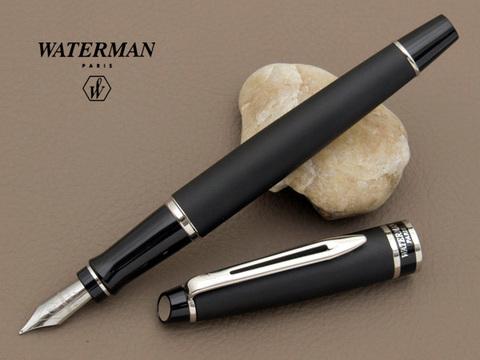 Перьевая ручка Waterman Expert 3, цвет: Matte Black CT, перо: F123