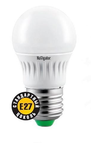 Лампа NLL-G45-7-230-2,7K-E27