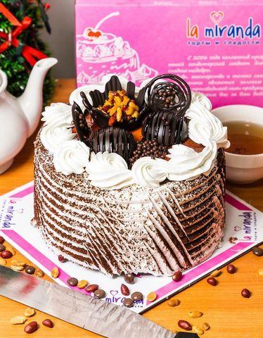 Торт №2 Сникерс