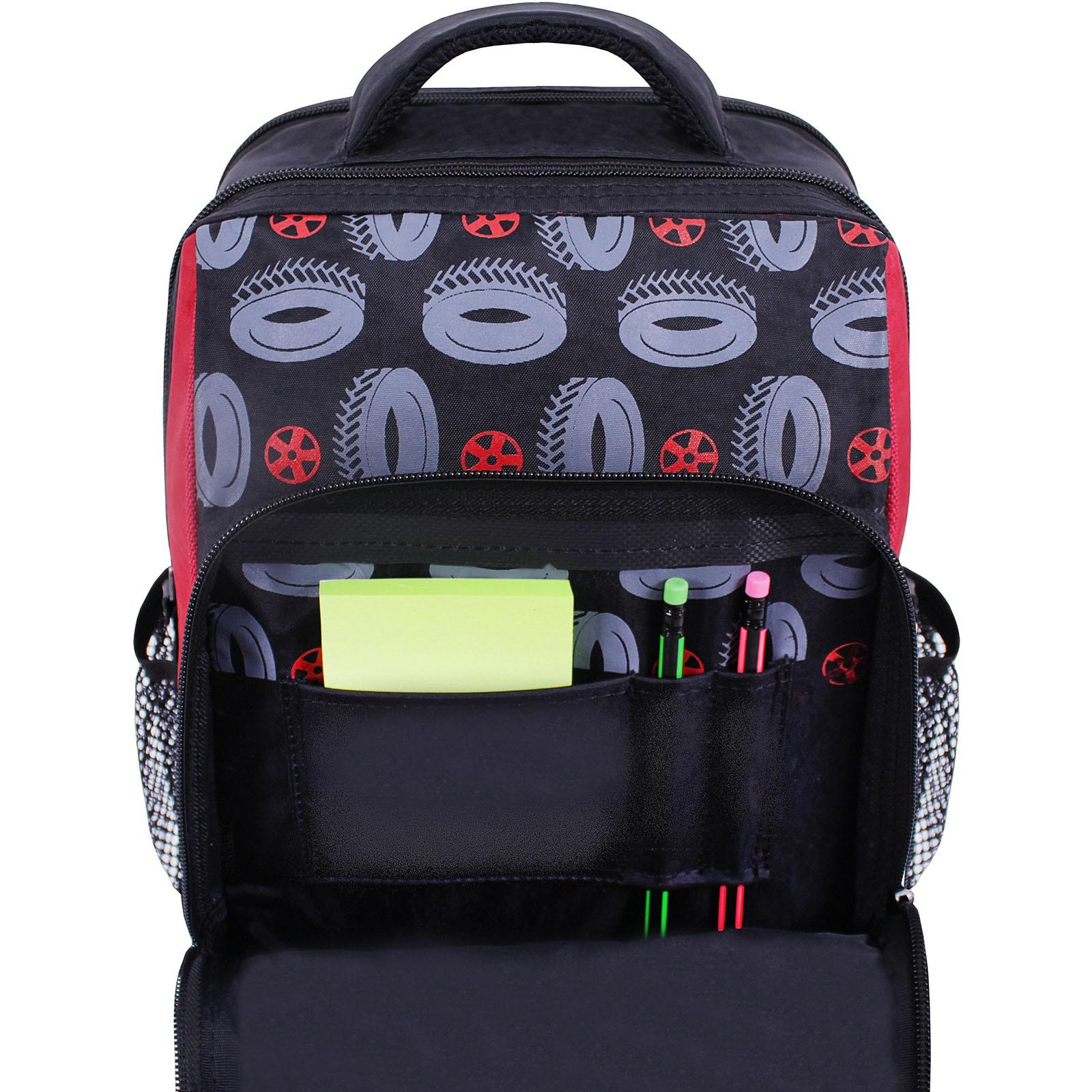 Рюкзак школьный Bagland Школьник 8 л. черный 568 (0012870) фото 4