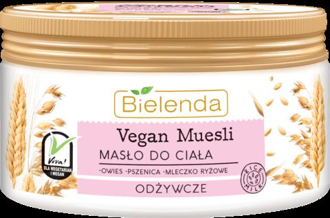VEGAN MUESLI питательное масло для тела пшеница+овёс+рисовое молоко 250 мл