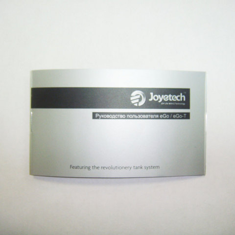Электронная сигарета Joye eGo-T, тип B, 650 mAh, черный + набор жидкостей в подарок