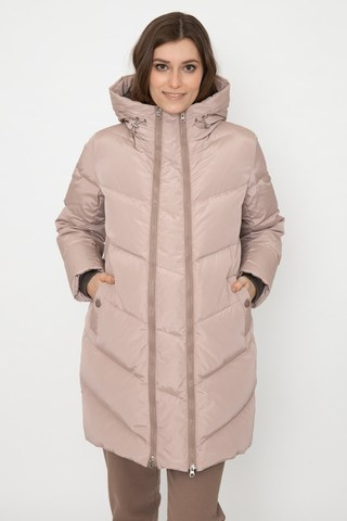 Зимняя куртка 2 в 1 для беременных 12130 бежевый