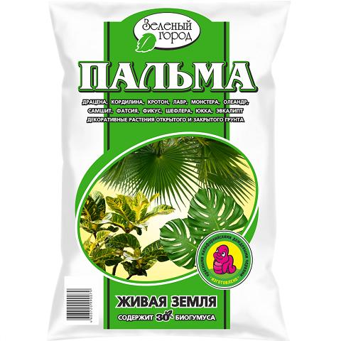 Почвогрунт на основе биогумуса Пальма, 4л