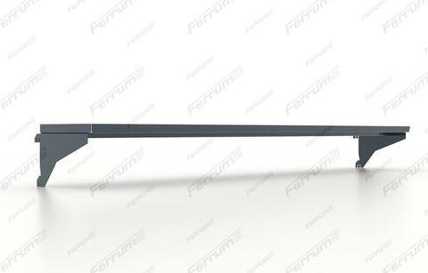Полка навесная 1250х195х20h мм, для инструментальных панелей верстака, серия