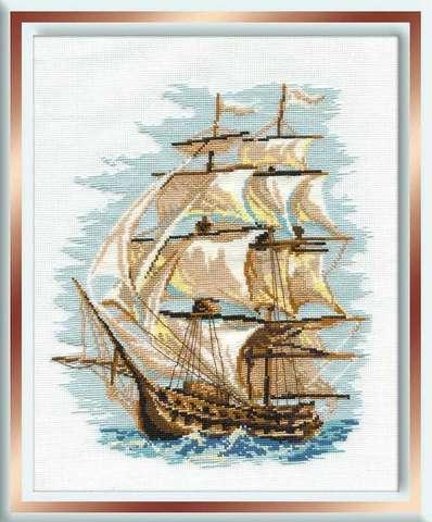 Набор для вышивания крестом «Корабль» (479)