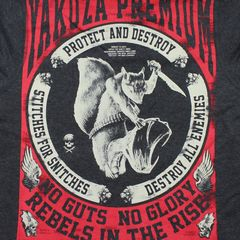 Толстовка черная Yakuza Premium 3025С