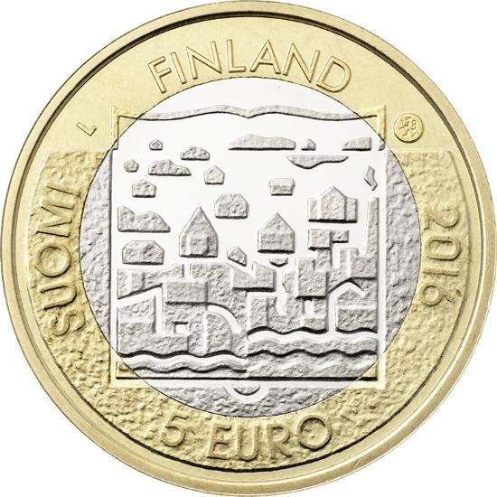 5 евро 2016 Финляндия - Кюёсти Каллио (4-й президент)