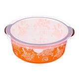 Блюдо для запекания с пластиковой крышкой 19х20 см, артикул 536-183, производитель - Agness