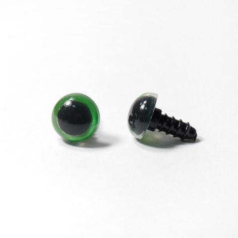 Глазки пластиковые с фиксатором 12мм