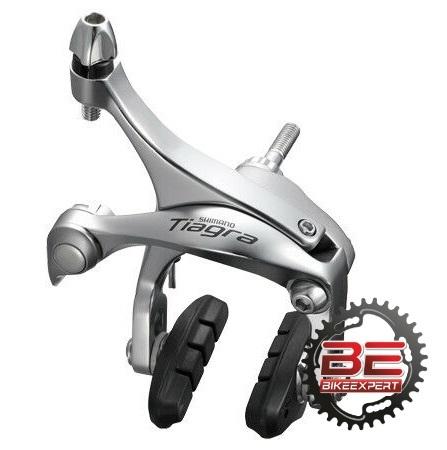 Тормоз клещевой Shimano Tiagra BR4600 silver передний
