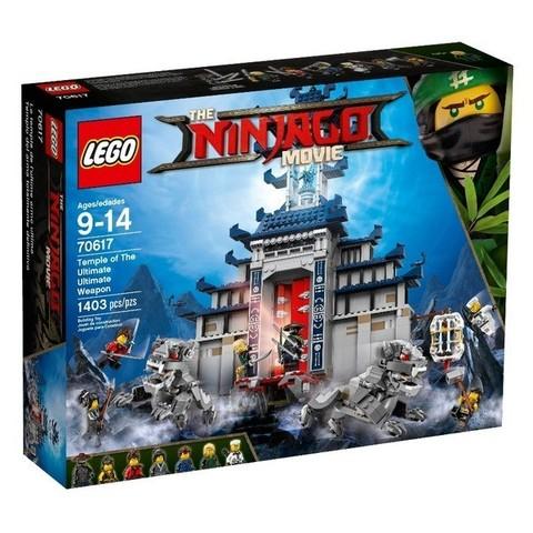 LEGO Ninjago Movie: Храм Последнего великого оружия 70617 — Temple of the Ultimate Ultimate Weapon — Лего Ниндзяго фильм