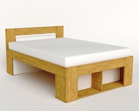 Кровать БЕЛЛРОК-1  2000-1200 /2036*900*1236/