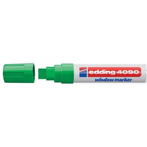 Маркер для окон EDDING E-4090/004 4-15мм (декоративный) зелен.