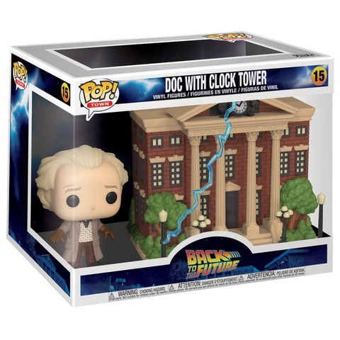 Doc With Clock Tower Funko Pop! Vinyl Figure