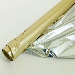 Полисилк Золото/Серебро, 100 см* 20 м.