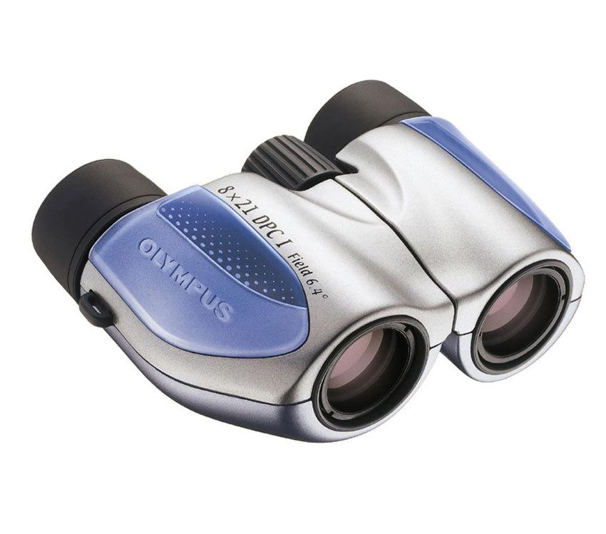 Бинокль Olympus 8x21 DPC I, синий - фото 1