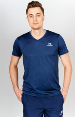 Футболка Nordski Оrnament Dark blue мужская