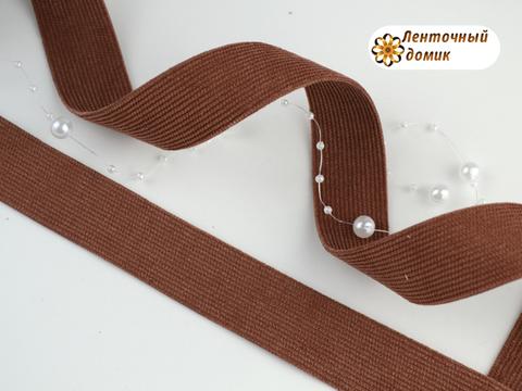 Лента вельвет двухсторонний арабские специи 25 мм