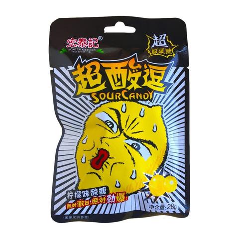 Конфеты кислые Tai Kee со вкусом лимона 28 гр