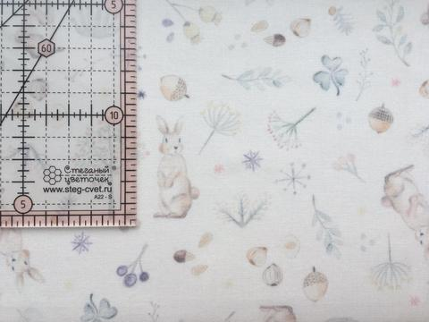 Ткань для пэчворка, хлопок 100% (арт. X0210)