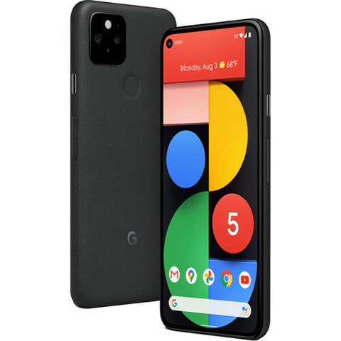 Смартфон Google Pixel 5 5G 8/128GB Just Black, Черный (GA01316)