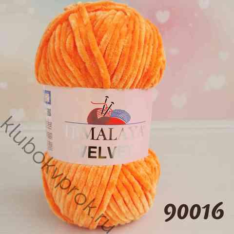 HIMALAYA VELVET 90016, Оранжевый
