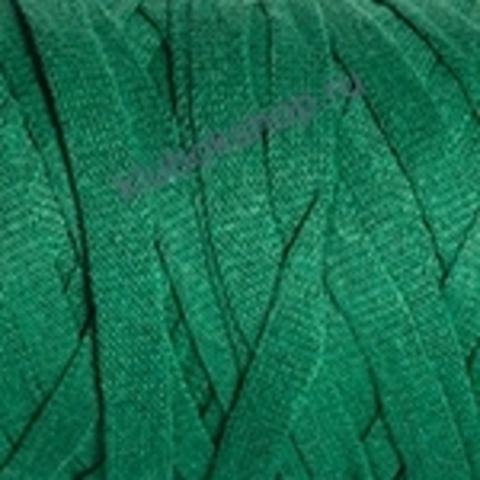 Ленточная пряжа YarnArt Ribbon цвет 759 ярко-зеленый