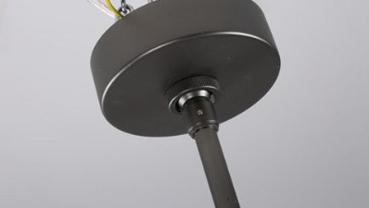 Потолочный светильник копия AGNES by Roll & Hill (6 плафонов, черный)