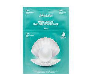 Трёхшаговый комплекс для повышения эластичности кожи с протеином жемчуга JMsolution Pearl Deep Moisture Mask
