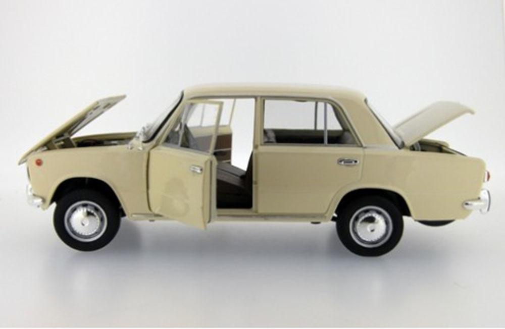 Коллекционная модель ВАЗ 2101 ЖИГУЛИ 1971 CREAM
