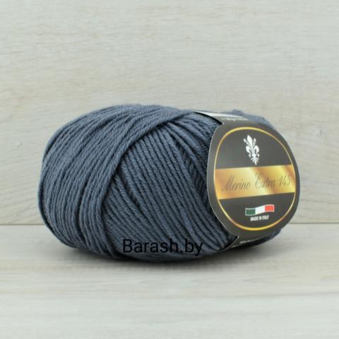 Пряжа Merino Extra 145 (Мерино Экстра 145) Темно-серый