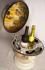 Глобус-бар настольный «Венецианский», фото 3