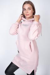 розовое худи с капюшоном купить