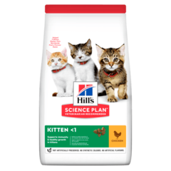 Корм для котят Hill`s Science Plan Kitten Healthy Development, с курицей
