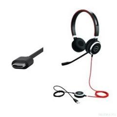 Jabra Evolve 40 Stereo MS проводная гарнитура USB-C ( 6399-823-189 )
