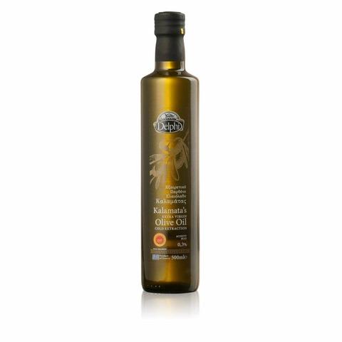 Масло оливковое  Каламата Delphi, 250 мл.