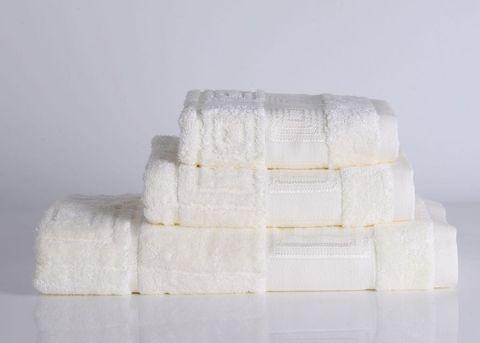 Miranda-3 кремовое махровое  полотенце Valtery