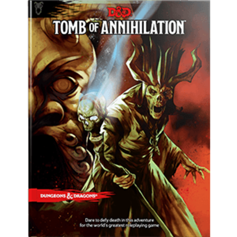 D&D Tomb of Annihilation book