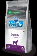 Корм для собак, FARMINA Vet Life OXALATE, при МКБ оксалаты, ураты и цистины