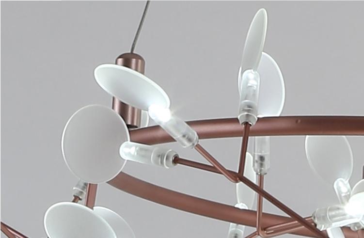 Подвесной светильник копия Heracleum II by Moooi (медный, D100cm)
