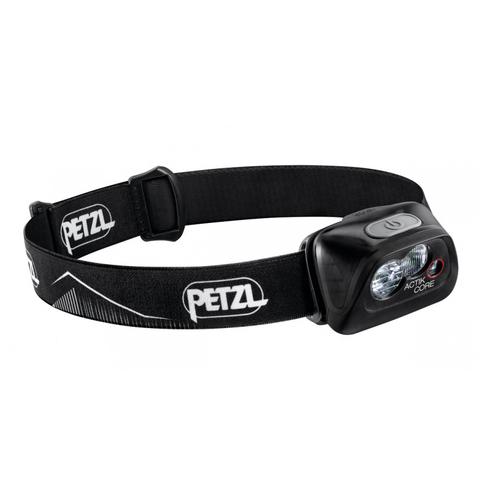 Фонарь светодиодный налобный Petzl Actik Core черный, 450 лм, аккумулятор