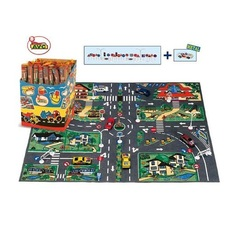 AVC Игровой коврик с дорожными знаками, 83×63 см (01/855)