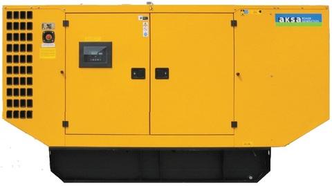 Дизельный генератор Aksa AD 185 в кожухе