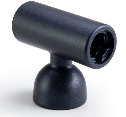 Черная насадка-мастурбатор на вибратор Doxy - Masturbator Sleeve Doxy Attachment